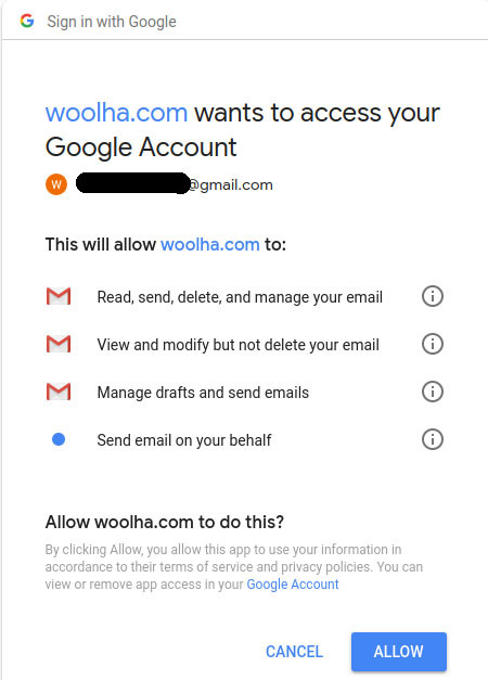 Node js - Send Email Using Gmail with Nodemailer + OAuth2 - Woolha