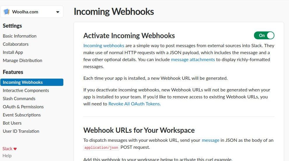 Java - Sending Message to Slack Webhook - Woolha