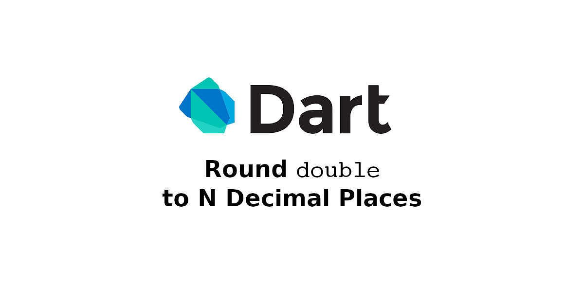 Dart - Round Double to N Decimal Places